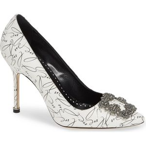 NEW MANOLO BLAHNIK Limited Edition Hangisi Pump